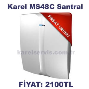 KAREL MS48C SANTRAL FİYATI ( 4 / 12 ) İNDİRİMLİ FİYAT