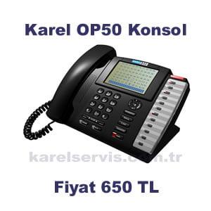 KAREL OP50 FİYAT | KAREL OP50 KONSOL FİYATI